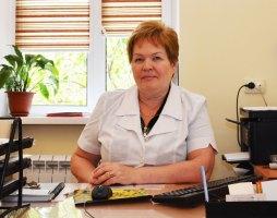 Тоница Ирина Альгисовна - заместитель главного врача по организационно-методической работе